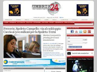Umbria 24 Cronaca Perugia Terni
