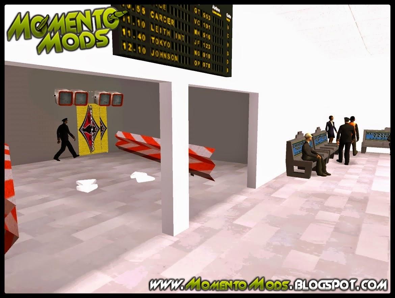 GTA SA - Mod Entrar No Aeroporto