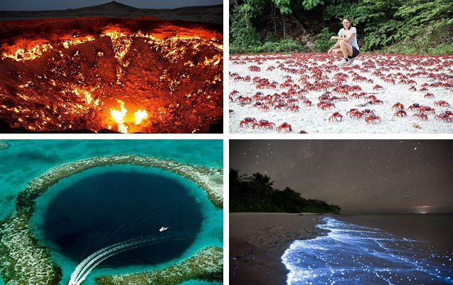 Картинки удивительные явления природы