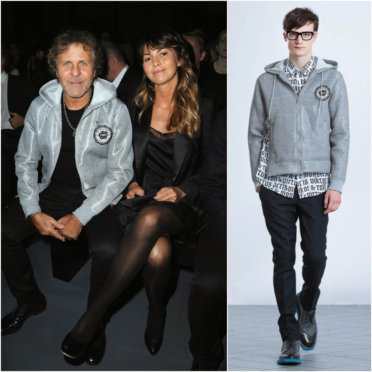 Renzo Rosso in Viktor & Rolf - Viktor & Rolf Haute Couture Spring Summer 2014 Show, #PFW