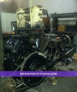 Mesin Nomorator Kipas | Heidelberg T Platen