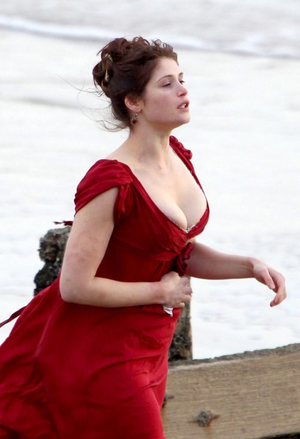 british geema arterton busts out hot images
