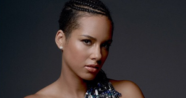Alicia Keys Poses Pregnant and Nude for Peace | PEOPLE.com