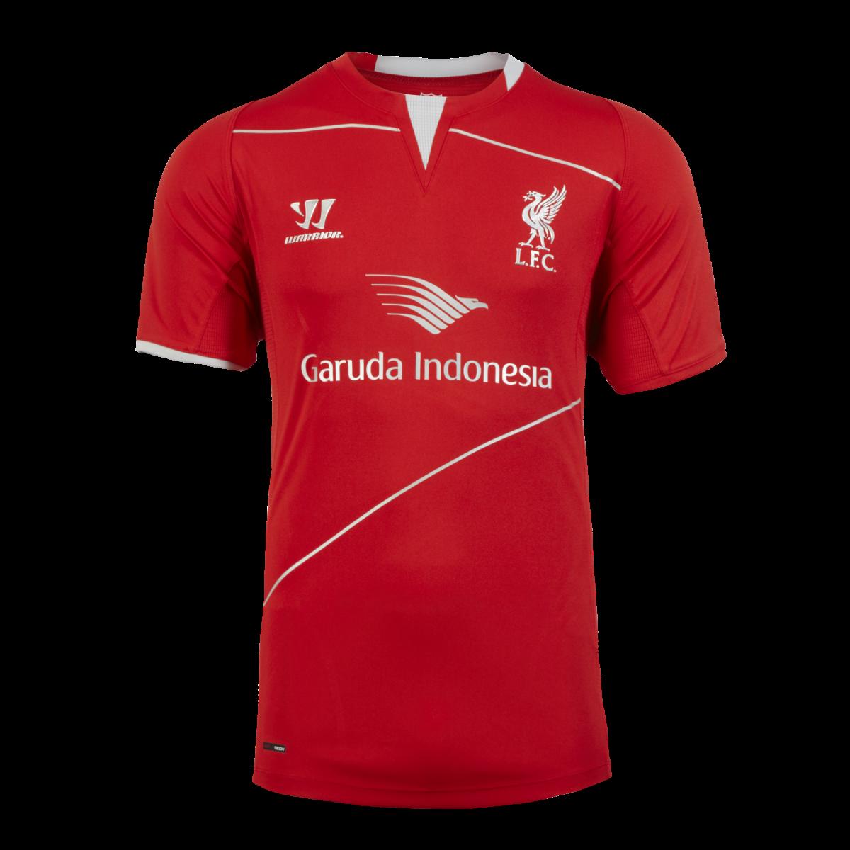 jersey liverpool garuda indonesia 2015 merah