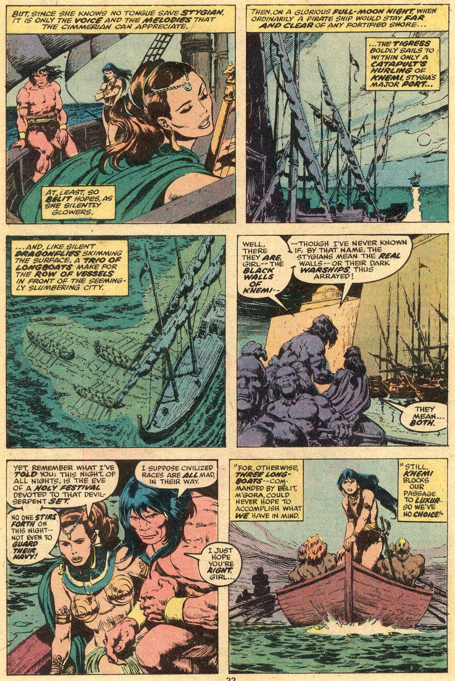 Conan the Barbarian (1970) Issue #74 #86 - English 12