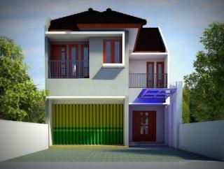 Desain Ruko (Rumah Toko) Minimalis Modern dan Terbaru