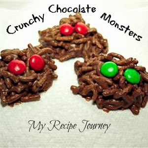 Crunchy Chocolate Monsters