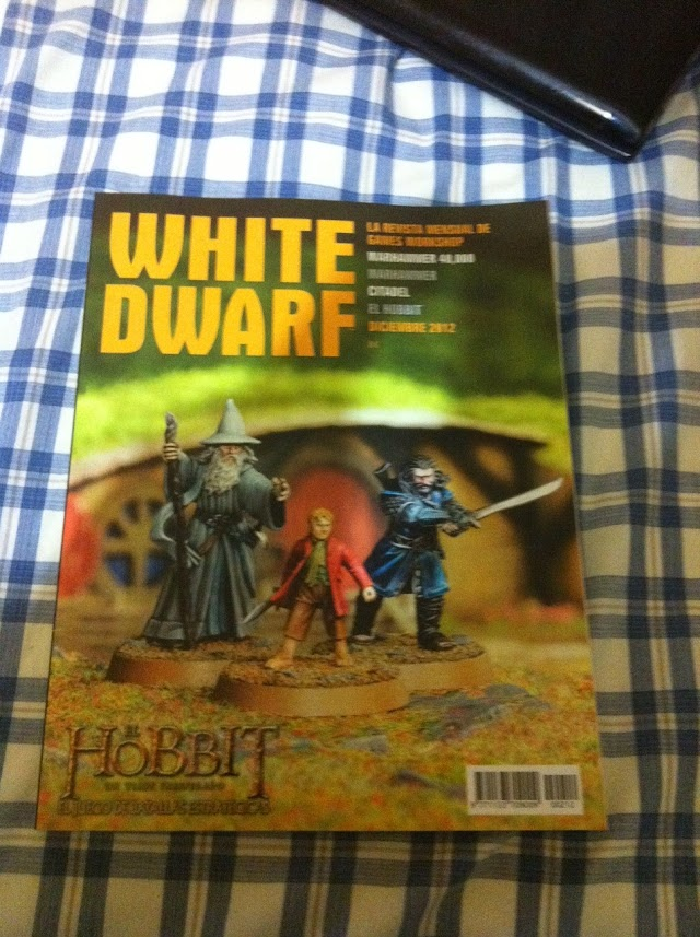 A First Look at the New White Dwarf