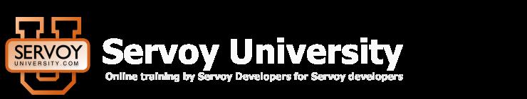 Servoy University