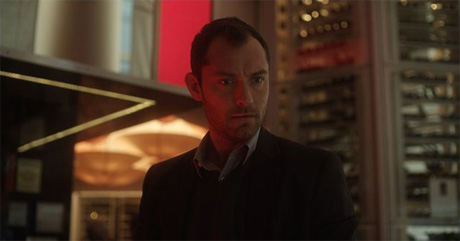 Jude Law en Efectos Secundarios (Side Effects)