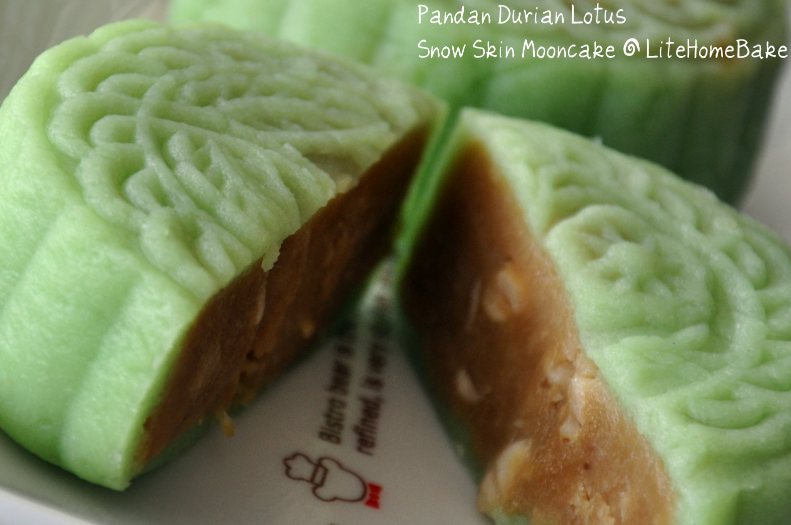 Snow Skin Mooncakes ~ Lite Home Bake