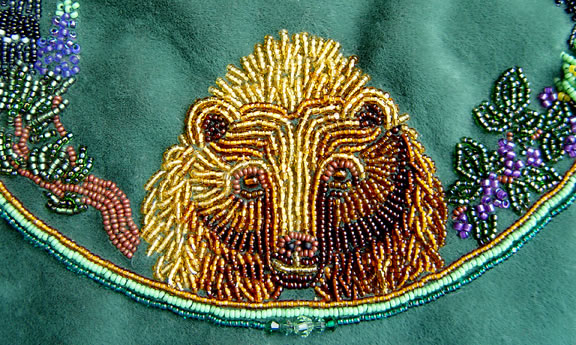 Beadlust Ganesh Bead Embroidery By Janet Dann