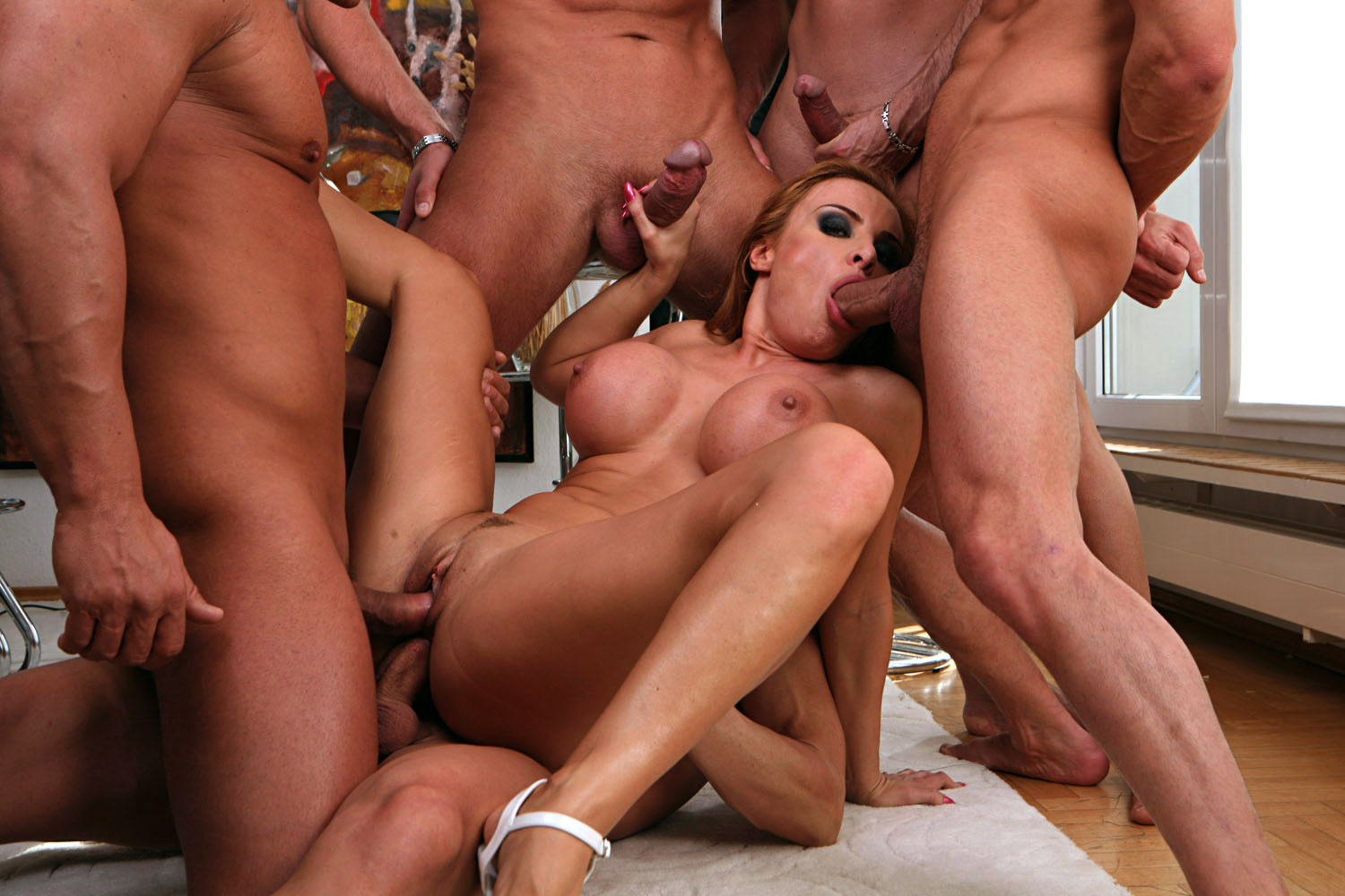 gangbang party berlin videos of anal sex