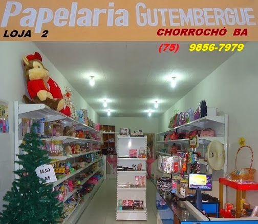 PAPELARIA GUTEMBERGUE - CHORROCHÓ