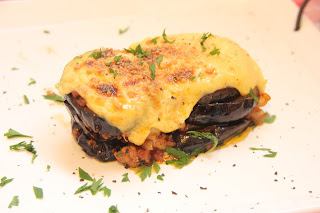 Moussaka with Yogurt Béchamel