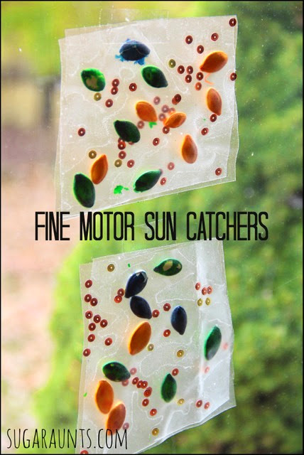Fine Motor Sun Catchers