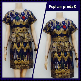 Baju Batik Dress DB 5003