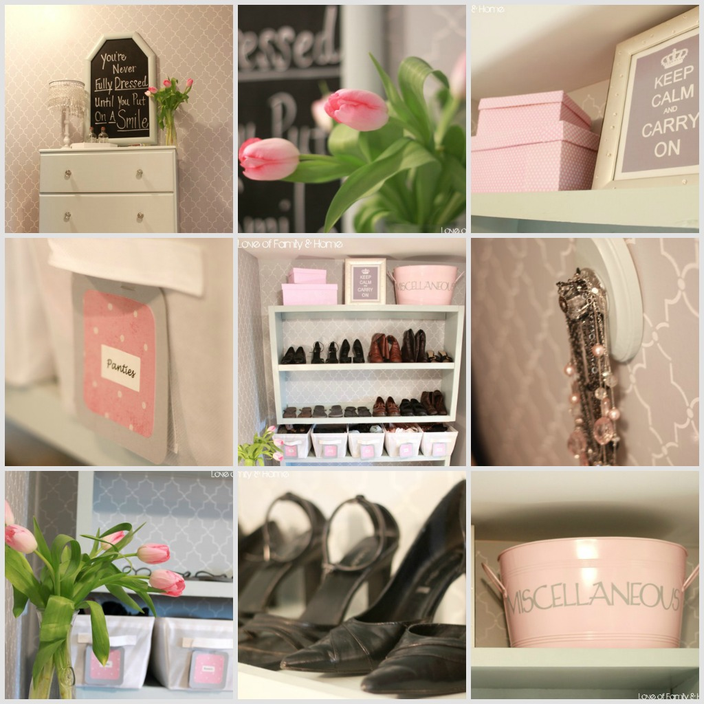 Master Closet Makeover Reveal....