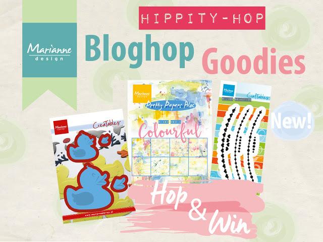 Bloghop Marianne Design: Eendjes!