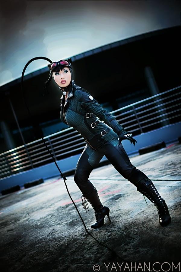 Catwoman by Yaya Han