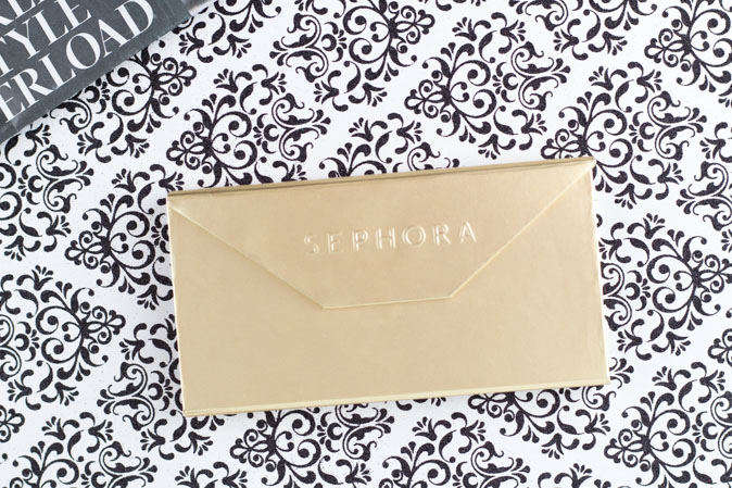 sephora vip pass envelope eyeshadow palette review holiday