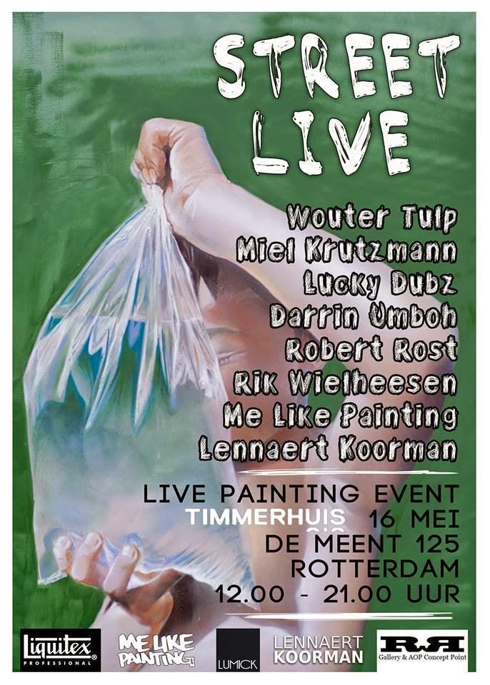 Live Painting Event Rotterdam