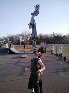 Great Skateboard Balance Talent