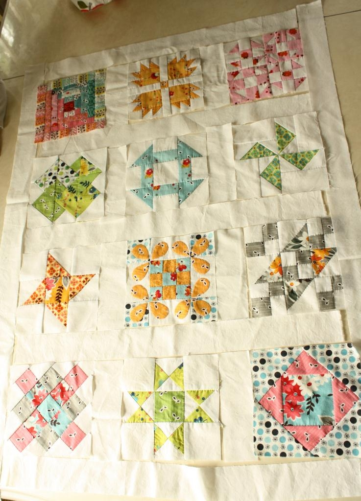 Why Not Sew Hand Pieced Quilt A Long Sashing And Border