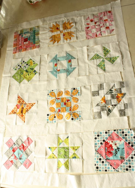Why Not Sew?: Hand Pieced Quilt-A-Long ~ Sashing and Border