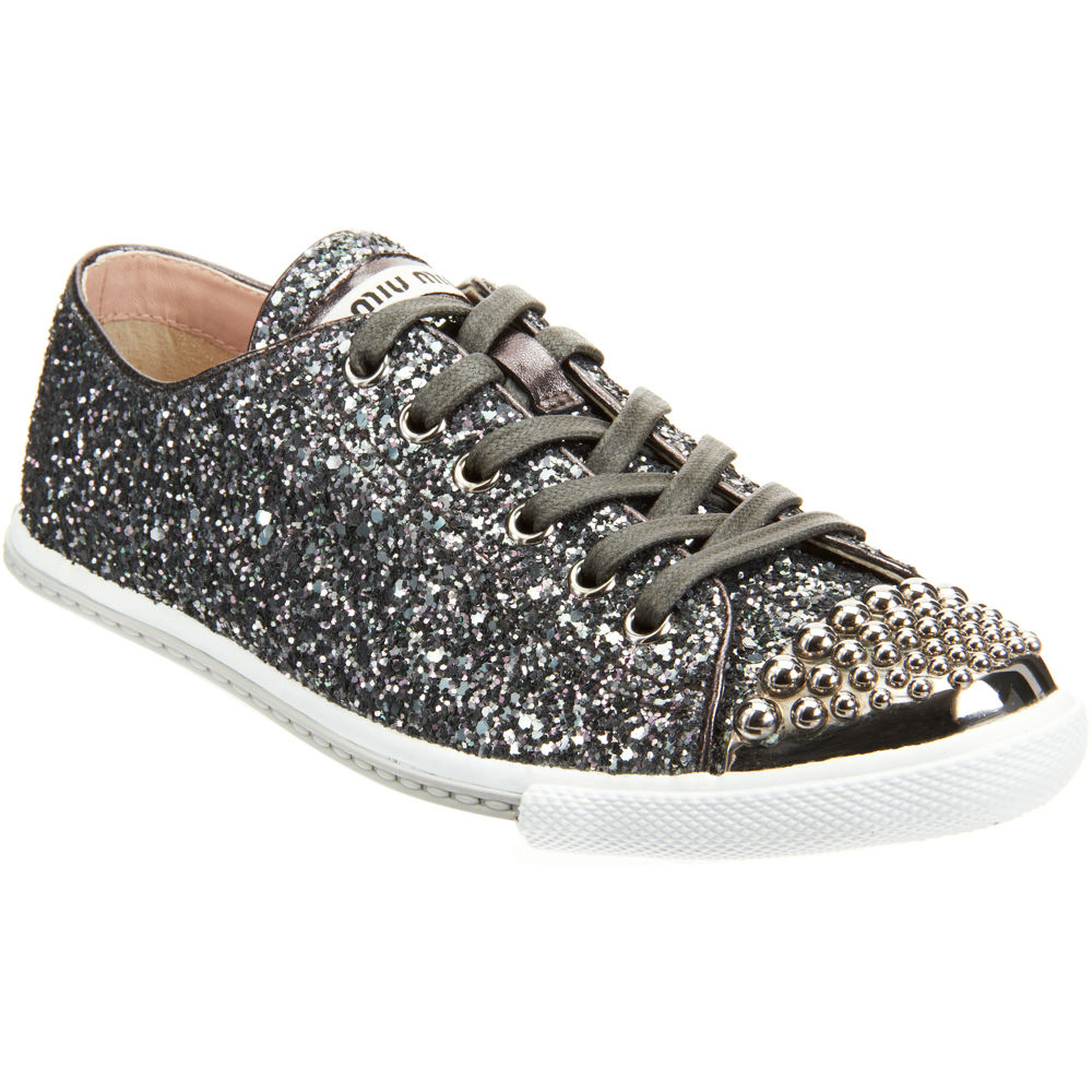 state of grace miu miu glitter sneakers