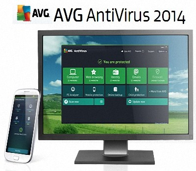 AVG Anti -Virus Free 2014 14.0.4116 Free Download Serial Key, Crack, Keygen , Patch and the full version