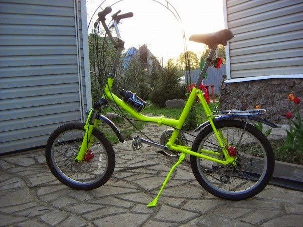 аист тюнинг велосипед фото