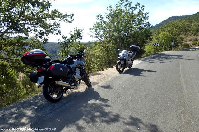 A las puertas del mirador del Cañón del Ebro