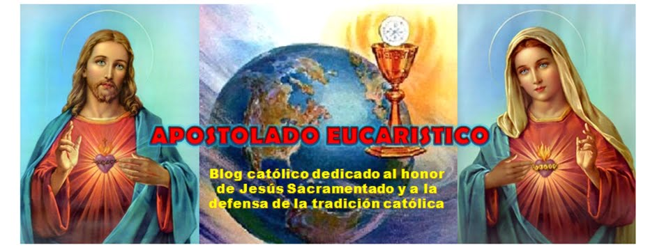 APOSTOLADO EUCARISTICO