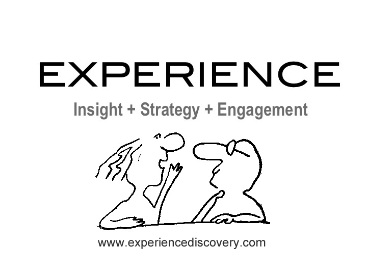 Experience Discovery Blog