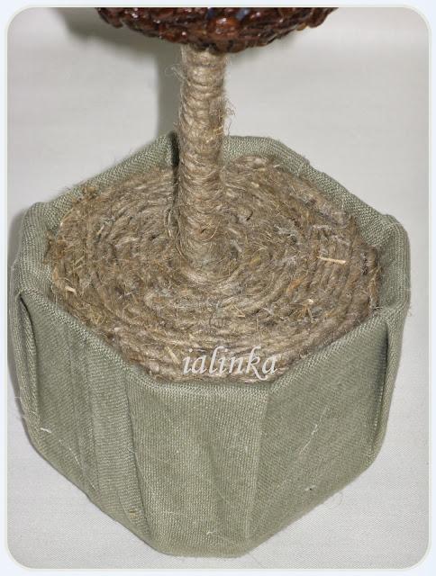 кофейное дерево своими руками топиарий рукоделие