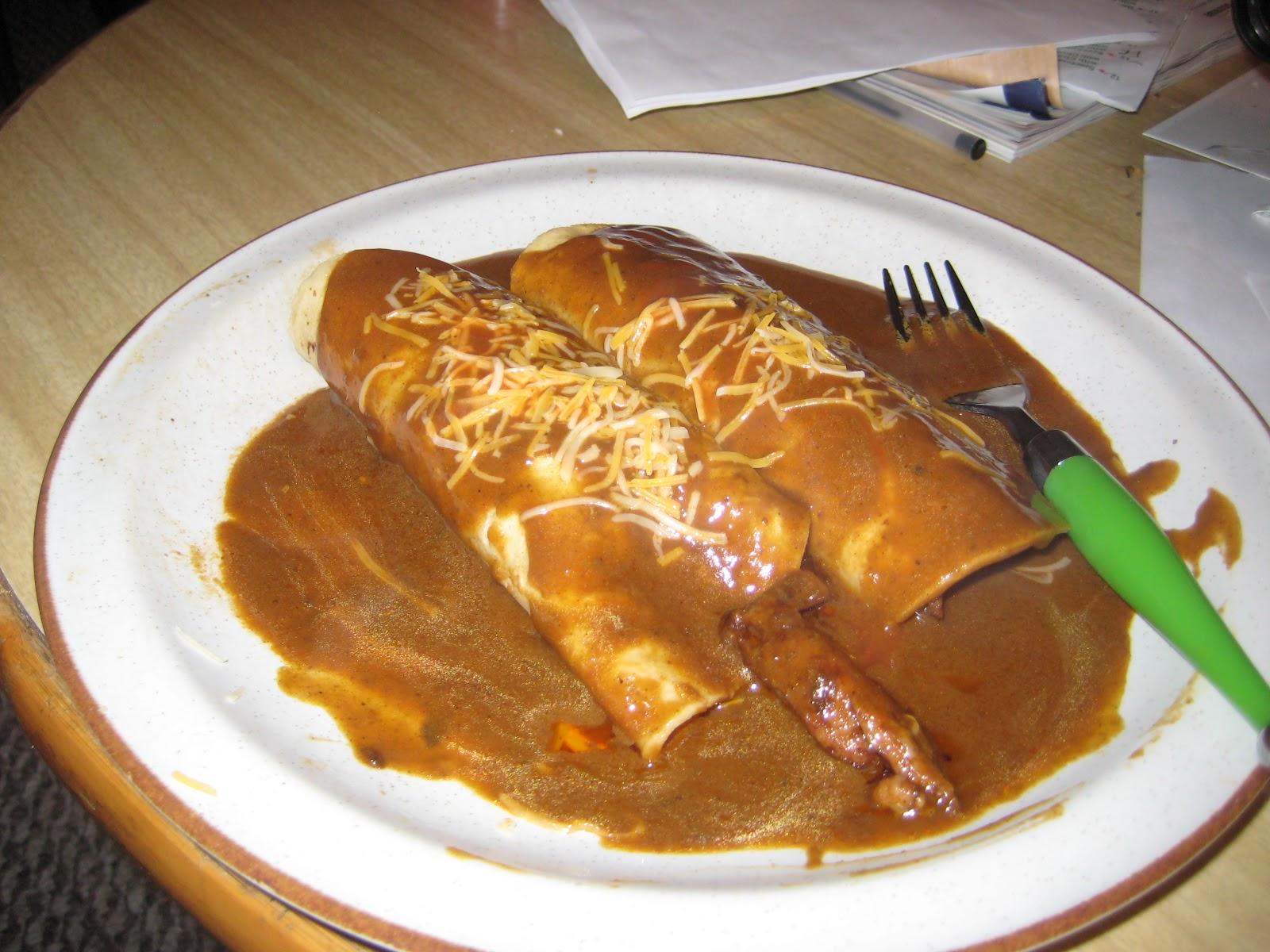 enchiladas enmoladas or mole enchiladas chicken enmoladas mole chicken ...