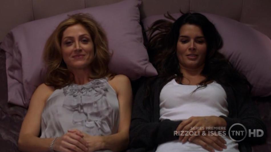 Rizzoli and isles lesbian subtext