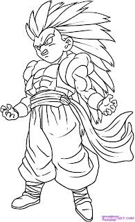 dicas de Desenhos do Goku imprimir e baixar