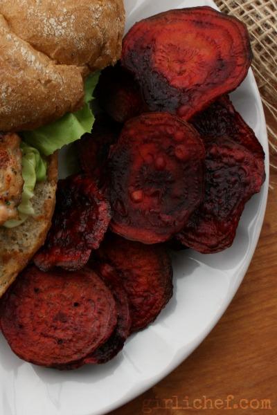 Beet Chips | www.girlichef.com
