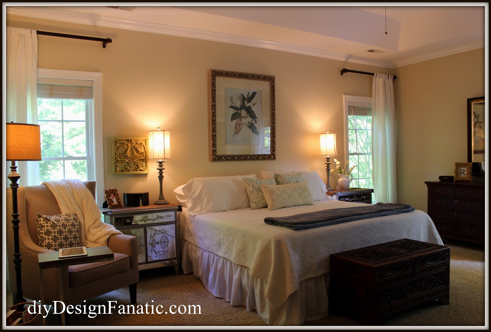 Master Bedroom Paint Colors Sherwin Williams diy design fanatic: new paint for our master bedroom