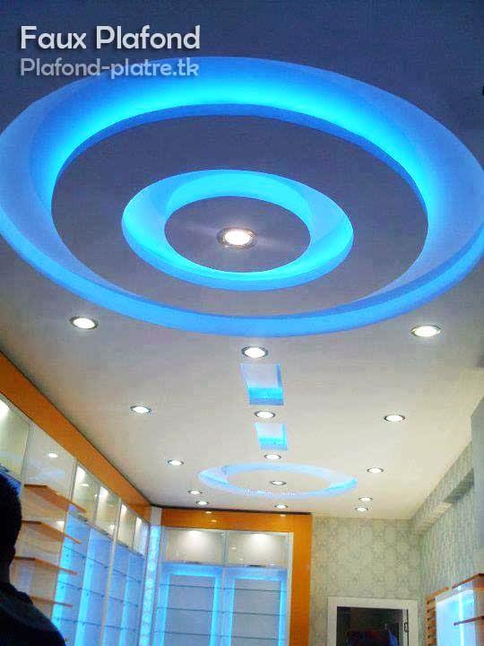 Faux plafond for Plafond couloir en platre