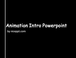Simple Opener Animation for Powerpoint