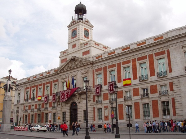 Top 10 madrid centro hist rico puerta de sol plaza for Edificio puerta del sol quito