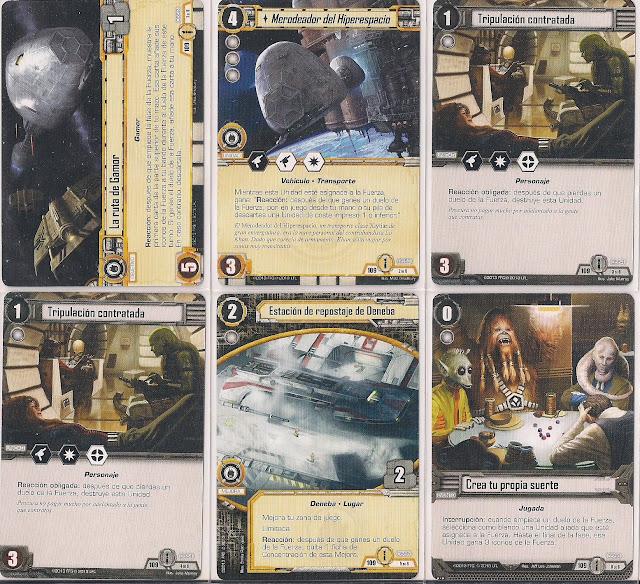 Expansión Star Wars LCG: Ciclo de Ecos de la Fuerza - Conocimiento y defensa La ruta de Gamor