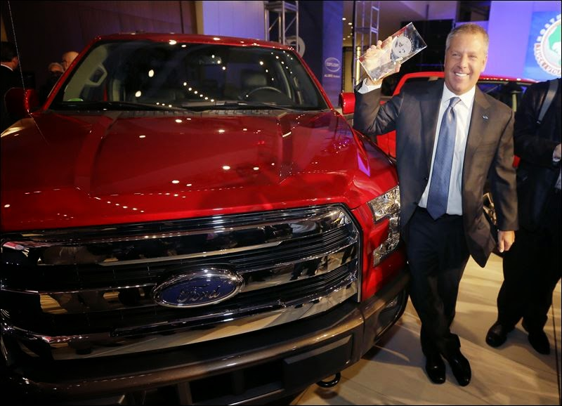 2015 Ford F-150 Named North American Truck of the Year