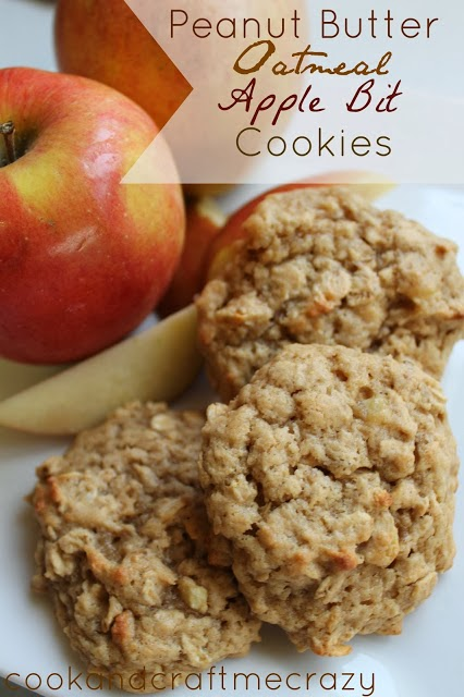 cookie recipe, oatmeal cookie, peanut butter cookie