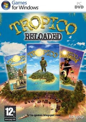 Tropico Reloaded PC Cover