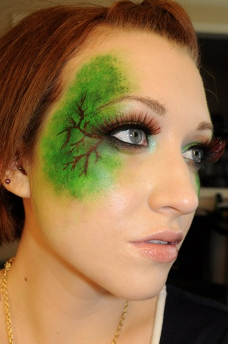 stellar four hunger games makeup for the premiere