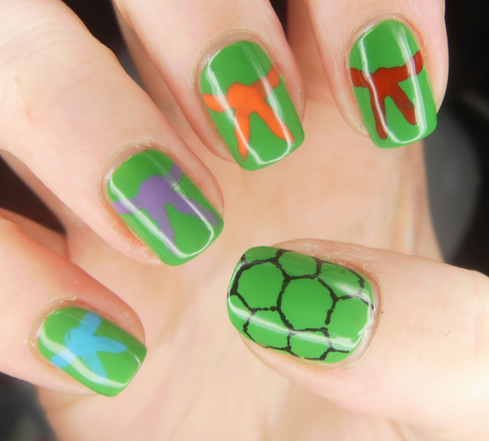 Specialgirl Nails She Who Does Nail Art Challenges Reptiles
